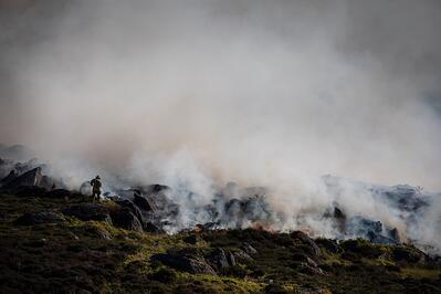 Beat wild fires with drone technology