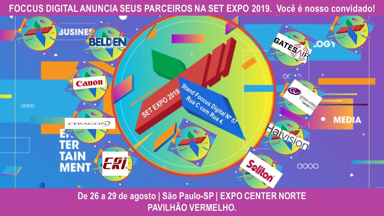 Pool de Parceiros na EXPO SET 2019